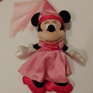 "Disney Parks Wizard Minnie Mouse Large 22"" Plush"